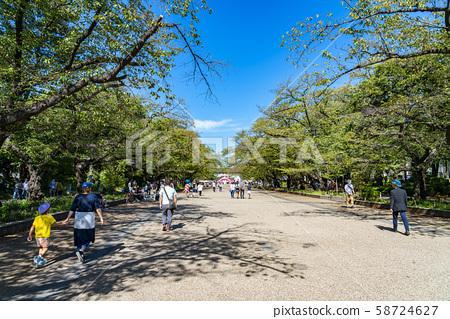 [東京]上野Onshi公園櫻通 58724627