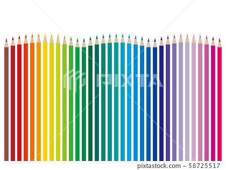 색연필 34 색 웨이브 58725517