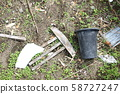 Abandoned garbage 58727247