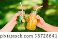 healthy lifestyle organic detox drink lemonade 58728641