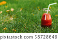 healthy nutrition natural drink fesh red smoothie 58728649