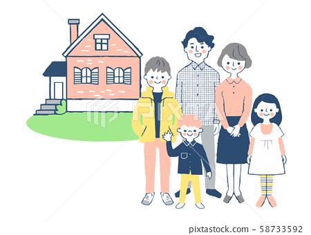가족과 집 58733592