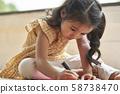 女孩画 58738470