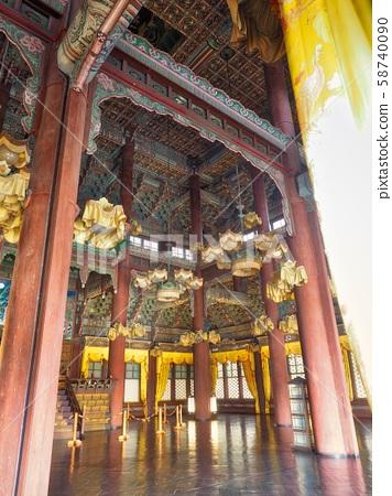 한국의 전통궁전 창덕궁, 궁전 내부 58740090