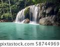 Erawan falls 58744969