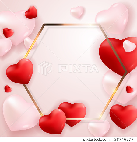 Valentine's Day Love and Feelings Background 58746577
