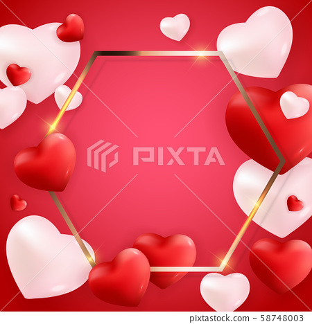 Valentine's Day Love and Feelings Background 58748003