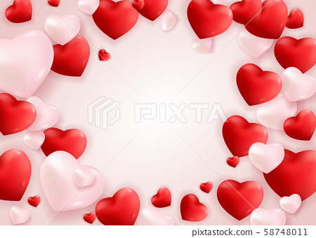 Valentine's Day Love and Feelings Background 58748011
