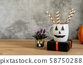 Accessories of decorations Happy Halloween day 58750288