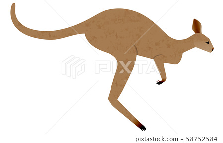 袋鼠跳的插圖 58752584