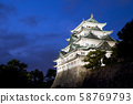 Nagoya Castle at Night - Japan 58769793