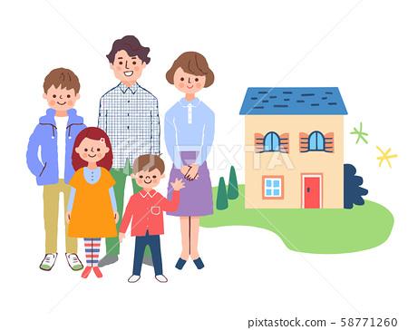 가족과 집 58771260