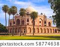 Humayun's Tomb in New Delhi, India 58774638