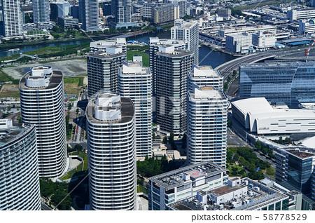 요코하마 미나토 미라이의 타워 맨션 군 58778529