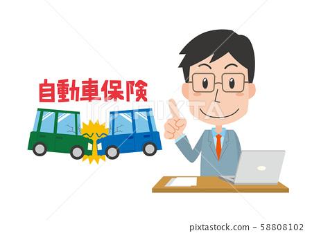 Car insurance explanation Male 58808102