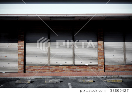Convenience store closed business 3312 58809427