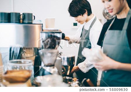 咖啡廳員工兼職 58809630