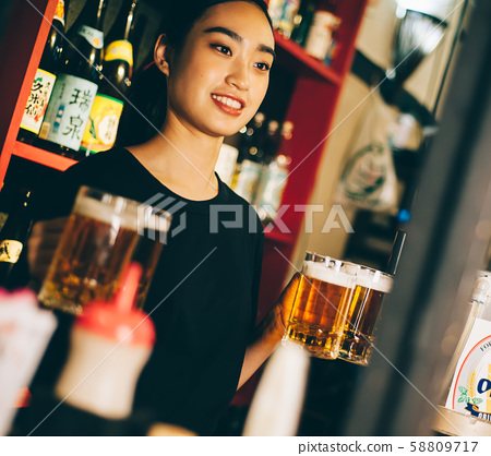 직원 아르바이트 술집 58809717
