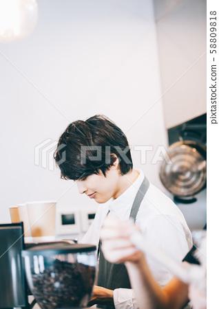 카페 직원 아르바이트 58809818