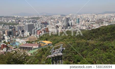 남산 풍경 58816694