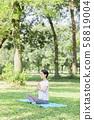戶外瑜伽 58819004