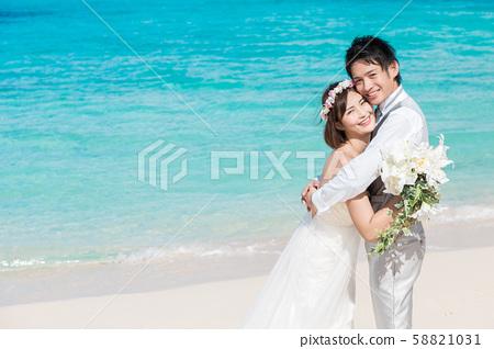 新娘海上婚禮 58821031