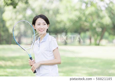 여자 테니스 58821185