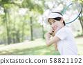 女子網球 58821192