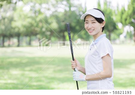 여성 골프 58821193