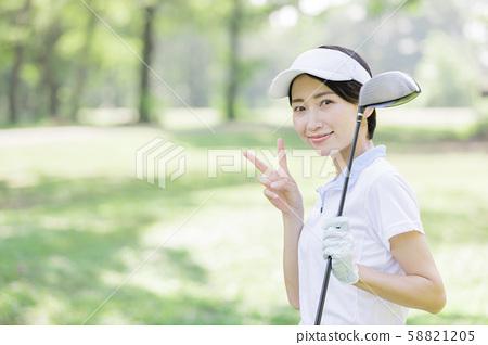 女子高爾夫 58821205