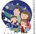 Astronomical observation 58822571