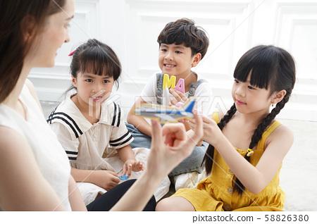 어린이 교육 영어 58826380