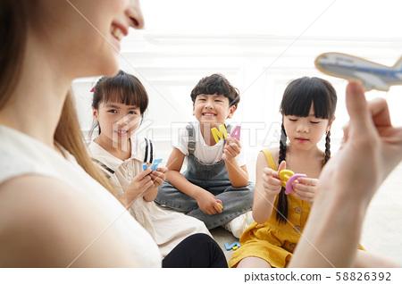 儿童教育英语对话 58826392