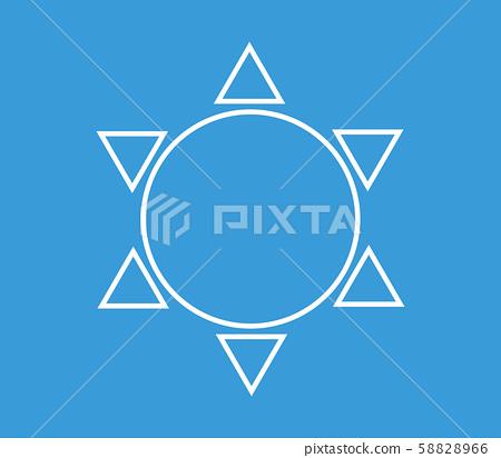 sun icon 58828966