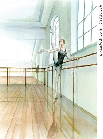 芭蕾練習 58835126