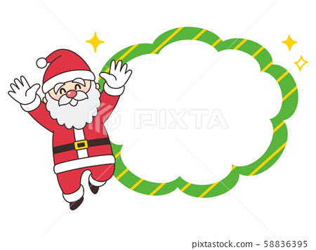 聖誕老人氣球聖誕節 58836395