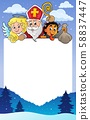 Saint Nicholas Day topic frame 1 58837447