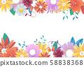 꽃 프레임  58838368