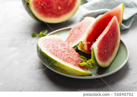 Sweet fresh watermelon 58840702