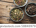 Set of different tea 58840979