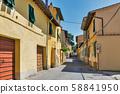 Montopoli in Val d'Arno narrow street 58841950