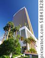 라스베가스의 풍경 (트럼프 호텔) 58843828