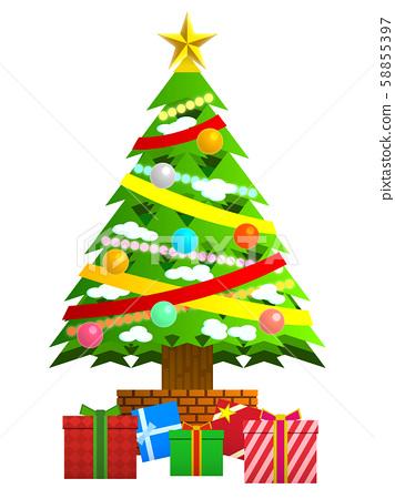 크리스마스 트리 58855397