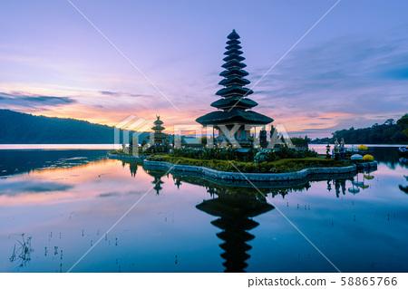 Pura Ulun Danu Beratan temple in Bali 58865766