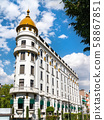 Beaux-Arts-style building in Mexico City 58867851