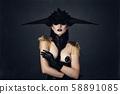 woman, fashion, haircut 58891085
