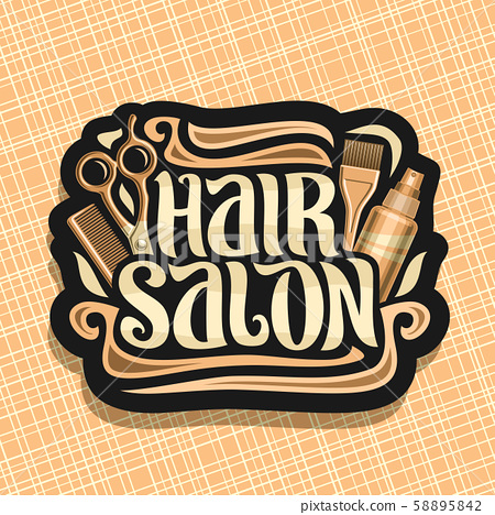 Vector logo for Hair Salon 58895842