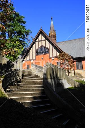 10 월 미나토 구 83 고딕 풍 성당 메이지 학원 58900852