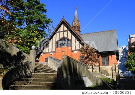 10 월 미나토 구 82 고딕 풍 성당 메이지 학원 58900853