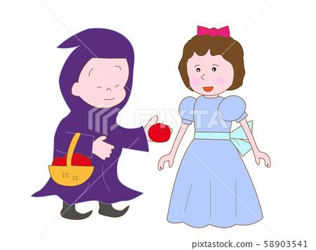 Nursery Snow White's play 58903541